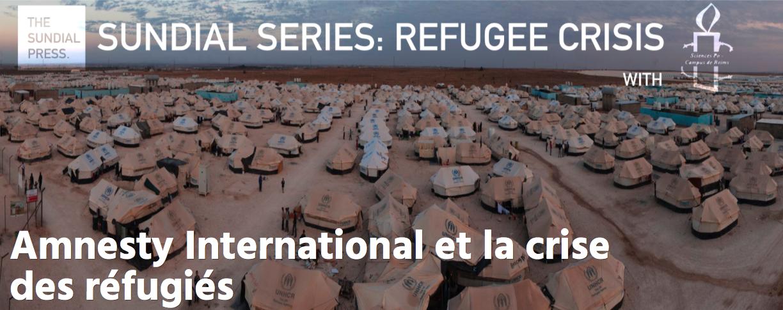Amnesty International et la crise des réfugiés