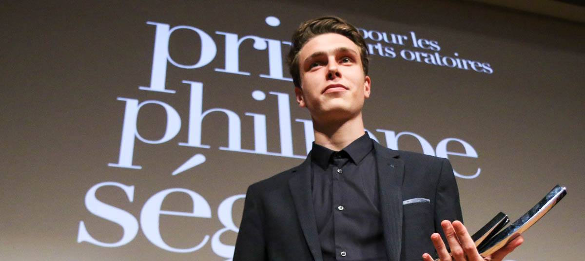 Simon Hervé, extravagant vainqueur du Prix Philippe Seguin