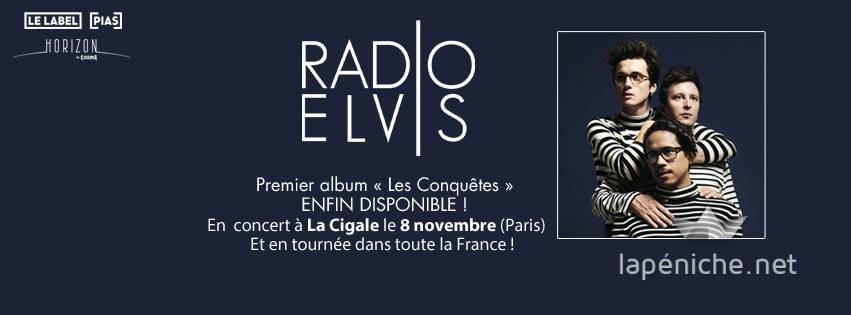 Radio Elvis en concert : l'invitation au voyage
