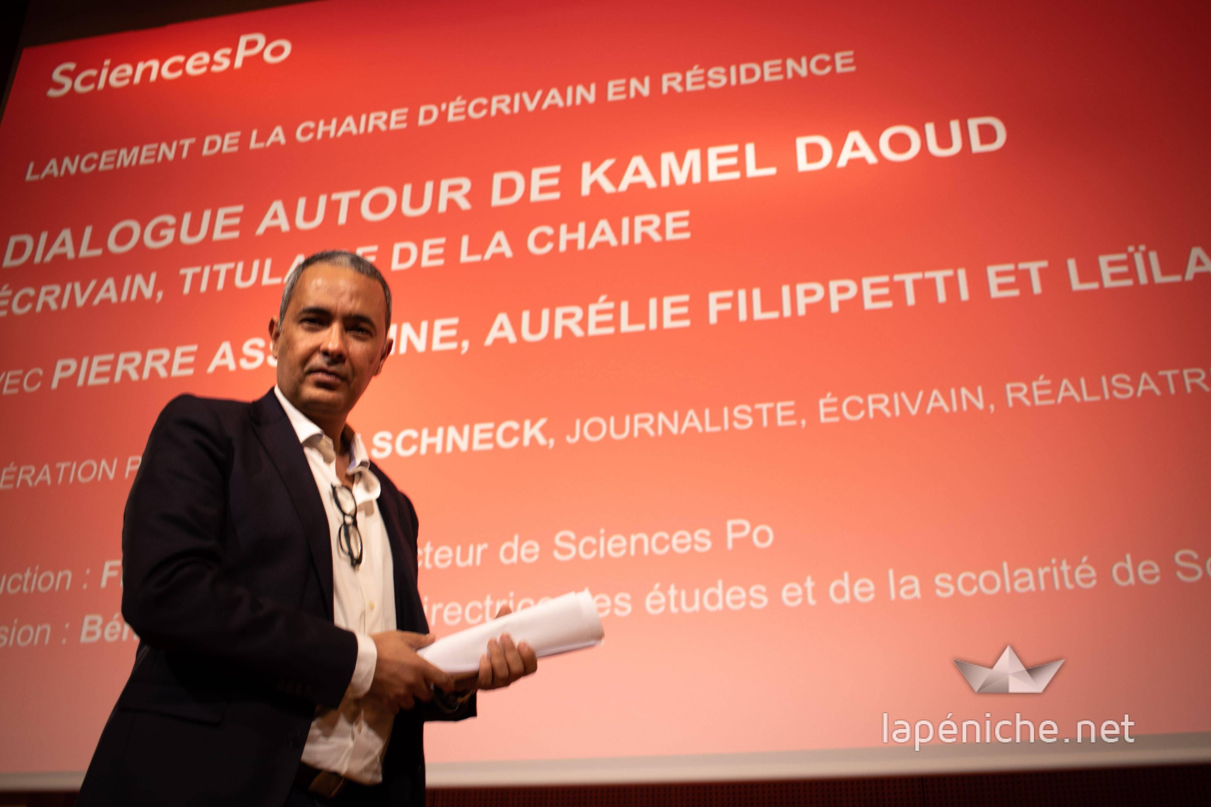 Conférence de Kamel Daoud : quand l'écriture et la fiction prennent vie à Sciences Po