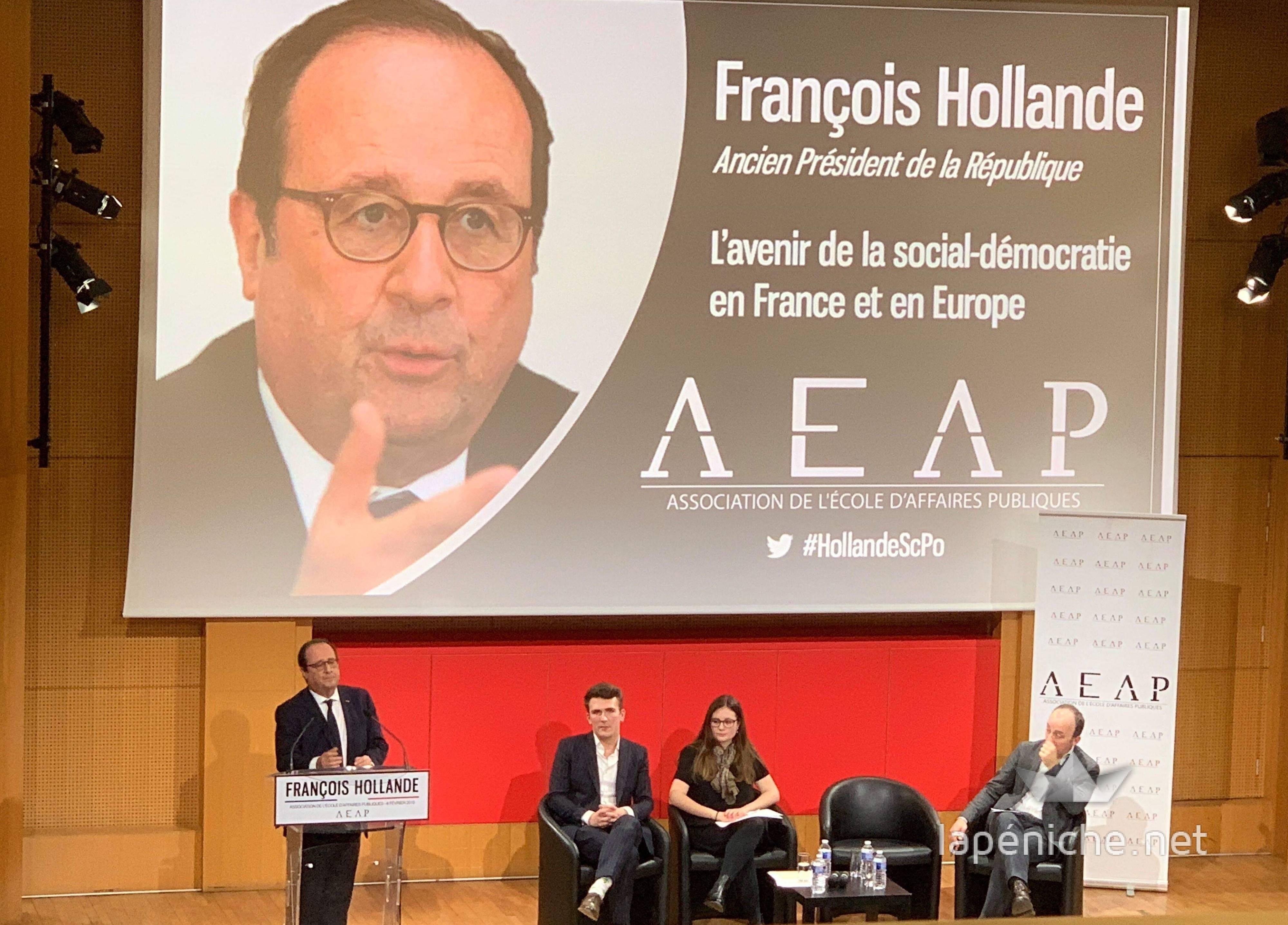 Conférence de François Hollande : un Président en terrain connu