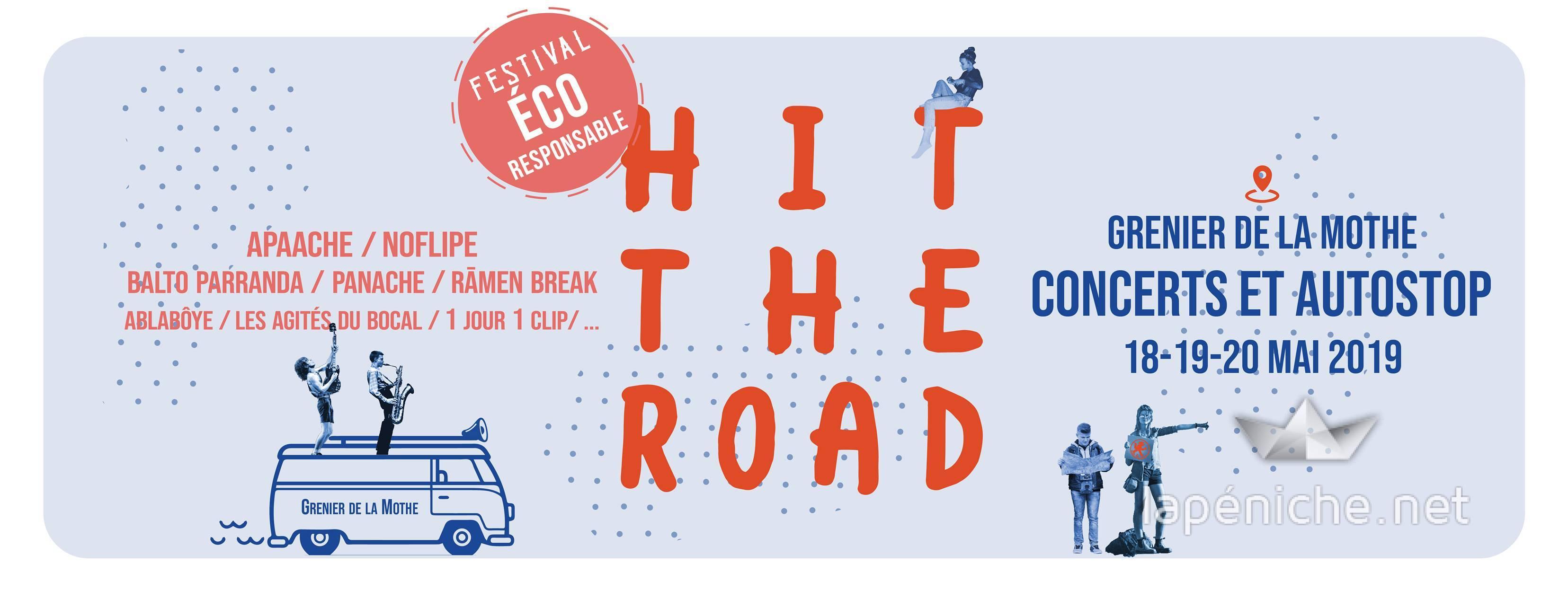 Festival Hit the Road : lever le pouce en musique !