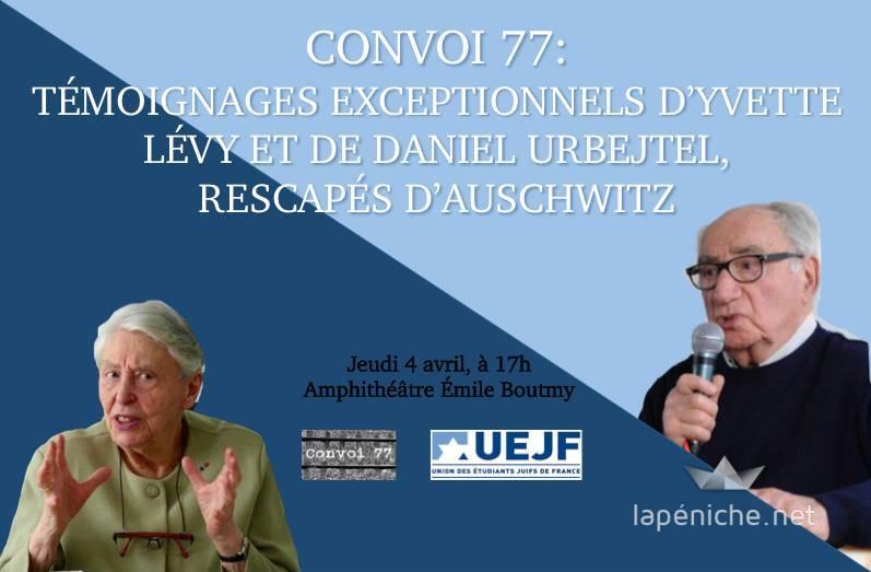 Yvette Lévy et Daniel Urbejtel : un précieux témoignage