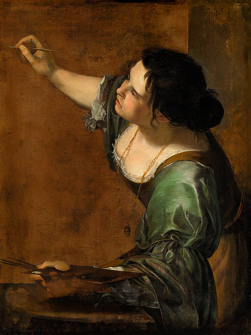 Autoportrait en allégorie de la peinture, Artémisia Gentileschi (1638-1639)